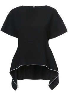 Proenza Schouler peplum fitted top