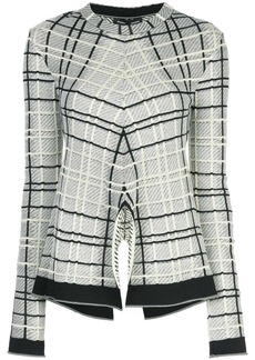 Proenza Schouler Plaid Tneck-Drapey Plaid