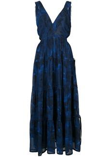 Proenza Schouler Pleated Empire Dress
