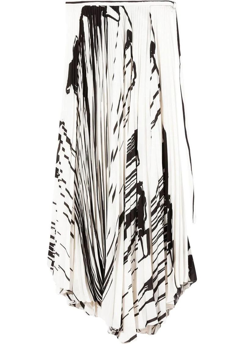 Proenza Schouler pleated midi skirt