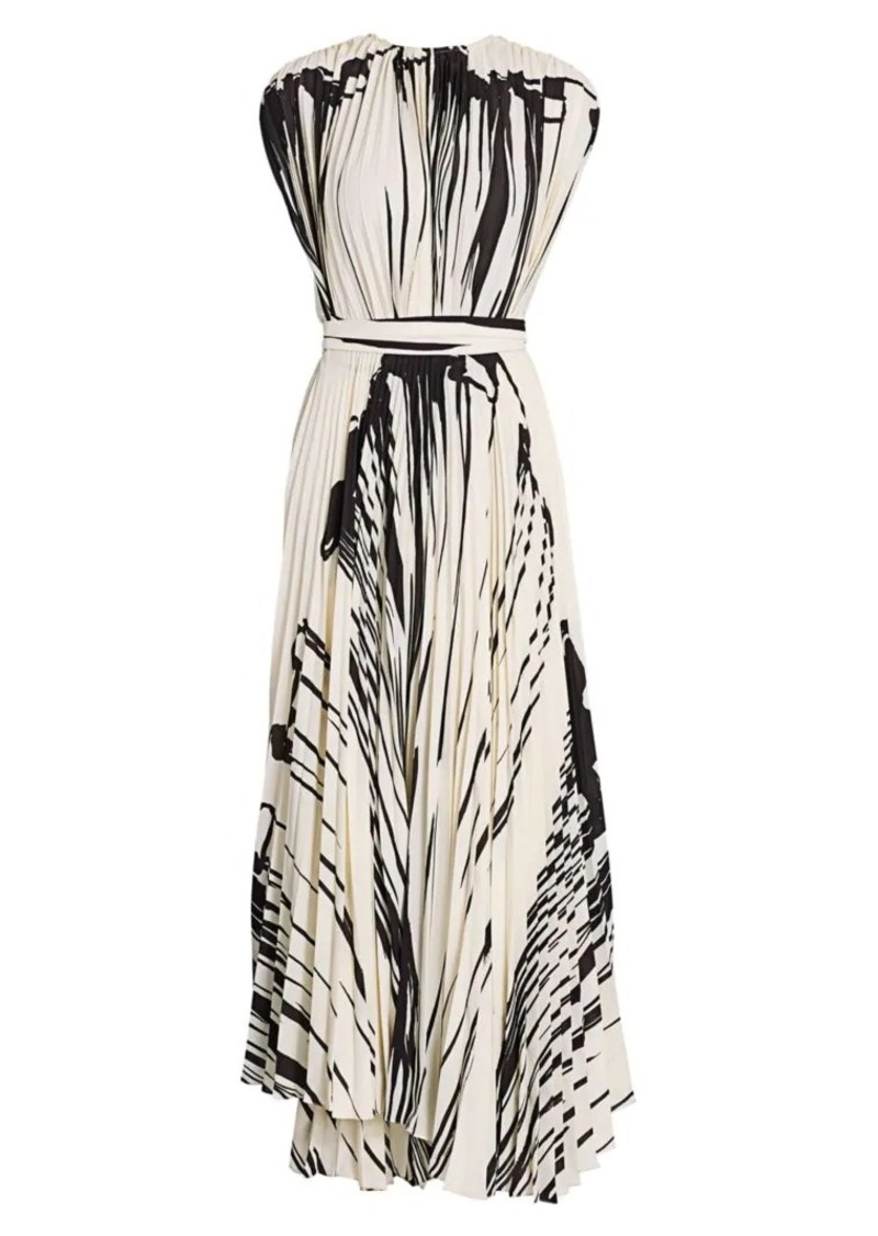 Proenza Schouler Pleated Wrap Dress