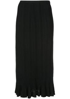 Proenza Schouler Plissé Knit Skirt