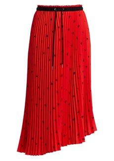 Proenza Schouler Print Pleated Midi Skirt