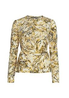 Proenza Schouler Print Tissue Jersey T-Shirt