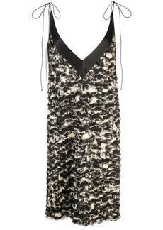 Proenza Schouler Printed Fil Coupe Shift Dress