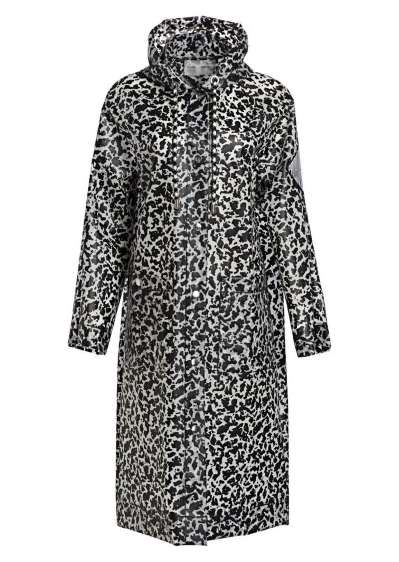 Proenza Schouler Printed Long Raincoat