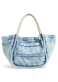 Proenza Schouler Acid Wash Denim Tote