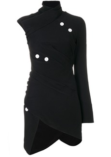 Proenza Schouler asymmetric button-embellished top