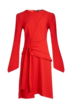 Proenza Schouler Asymmetric panelled crepe dress