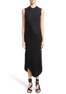 Proenza Schouler Asymmetrical Spiral Knit Dress