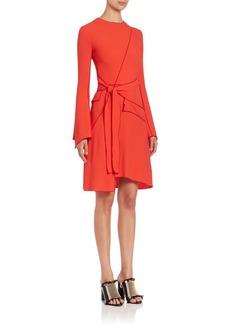 Proenza Schouler Asymmetrical Wrap Dress