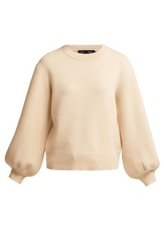 Proenza Schouler Balloon-sleeved cashmere-blend sweater