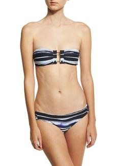 Proenza Schouler Barbell Bandeau Two-Piece Bikini Set