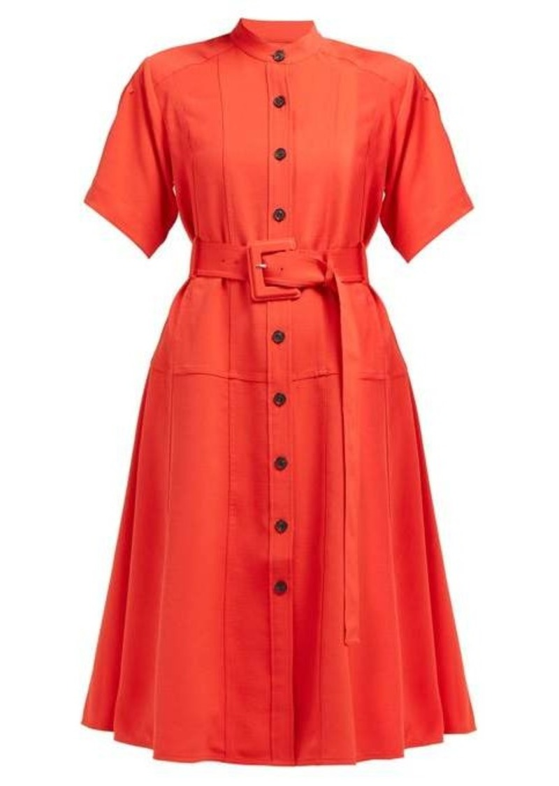 Proenza Schouler Belted oxford shirtdress