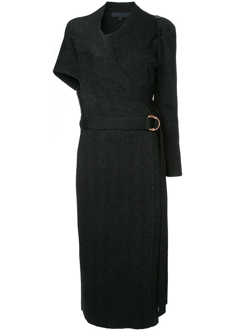 Proenza Schouler belted wrap dress