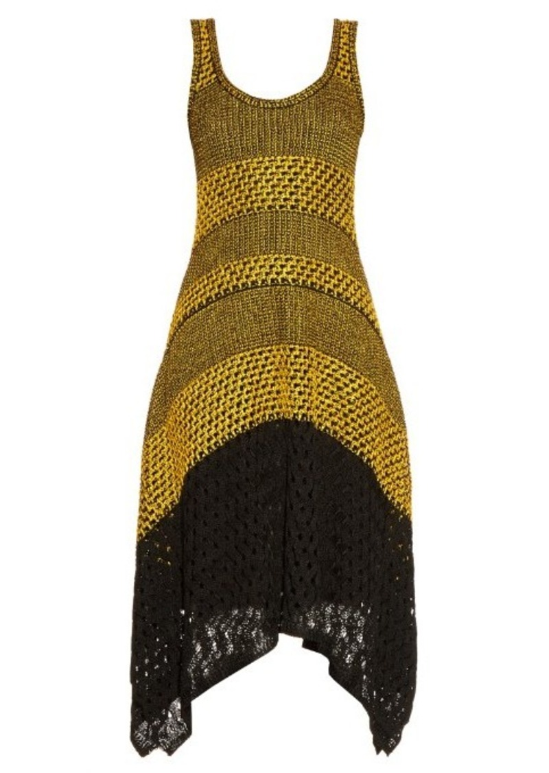 Proenza Schouler Bi-colour crochet dress