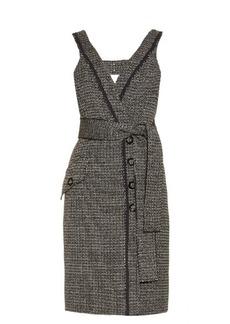 Proenza Schouler Bi-colour tweed dress