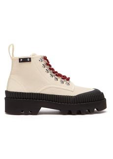 Proenza Schouler Canvas ankle boots