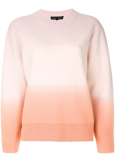 Proenza Schouler Cashmere Wool Dip-Dyed Sweater - Pink & Purple