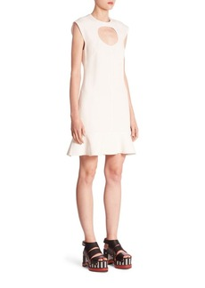 Proenza Schouler Circle Cutout Dress