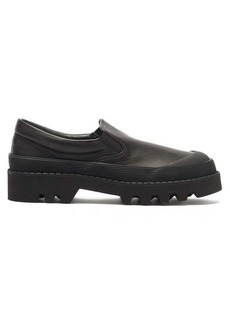Proenza Schouler City tread-sole leather loafers