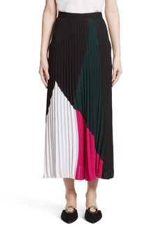 Proenza Schouler Colorblock Knit Skirt