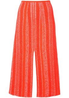 Proenza Schouler Compact Knit Pencil Skirt - Pink & Purple
