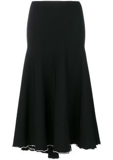 Proenza Schouler contrast trim skirt - Black