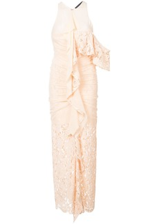Proenza Schouler Corded Lace Dress - Nude & Neutrals