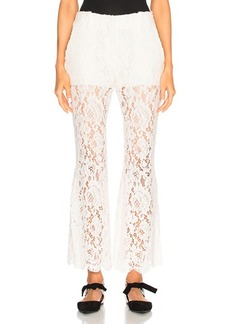 Proenza Schouler Corded Lace Flared Pants