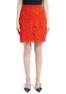 Proenza Schouler Corded Lace Miniskirt