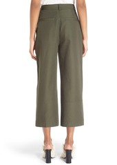 Proenza Schouler Cotton Canvas Suiting Culottes