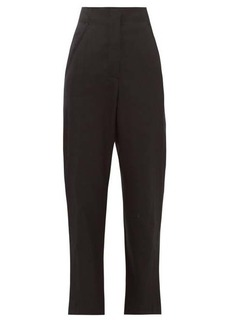 Proenza Schouler Cropped wool-blend twill trousers