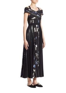 Proenza Schouler Cross Front Halter Dress