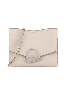 Proenza Schouler Curl Small Embossed Chain Clutch Bag