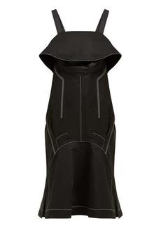 Proenza Schouler Cut-out cotton-twill midi dress