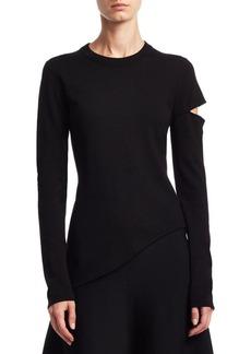 Proenza Schouler Cutout Sleeve Sweater