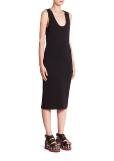 Proenza Schouler Cutout Tank Dress