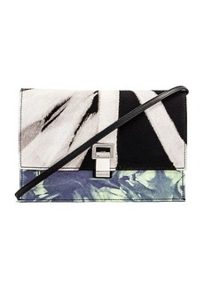 Proenza Schouler Denim Tie Dye Small Lunch Bag