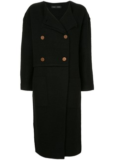 Proenza Schouler Double Breasted Long Cardigan - Black