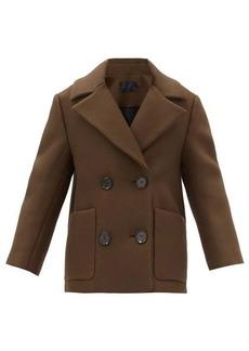 Proenza Schouler Double-breasted twill pea coat
