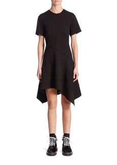 Proenza Schouler Flared Asymmetric Dress