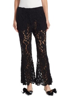 Proenza Schouler Flared Lace Pants