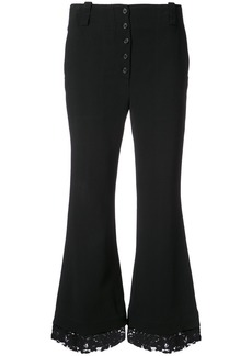Proenza Schouler Flared Pants - Black