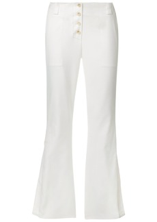 Proenza Schouler Flared Pants - White