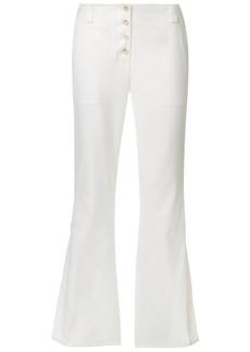 Proenza Schouler Flared Pants - White