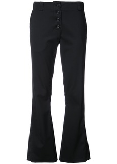 Proenza Schouler Flared trousers - Black