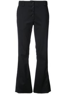 Proenza Schouler Flared trousers - Black