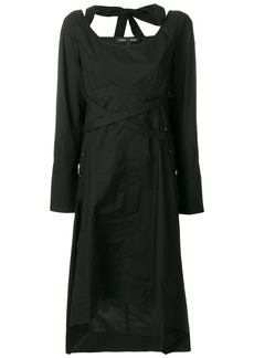 Proenza Schouler halter detail dress - Black
