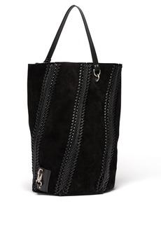 Proenza Schouler Hex large suede bucket bag